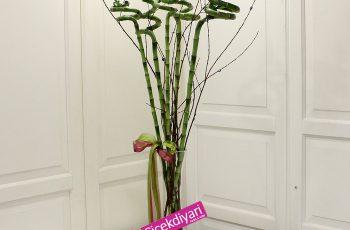 bambu çiçek