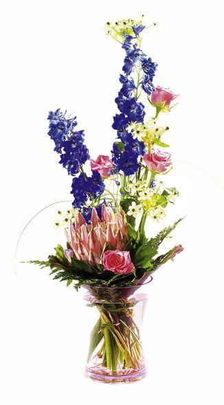 Рисуем вазу красивую с цветами