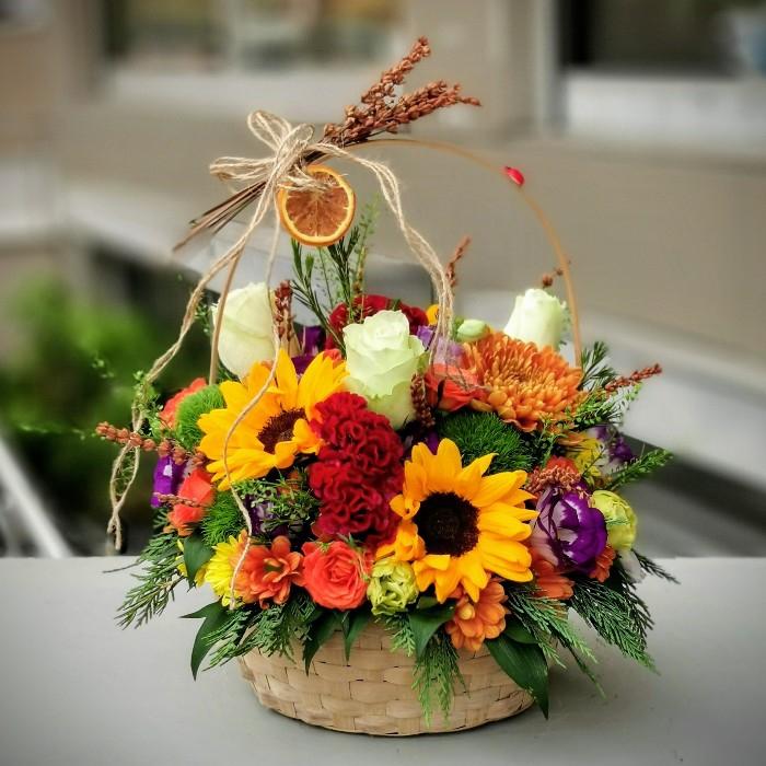 Son Bahar Çiçek Sepeti
