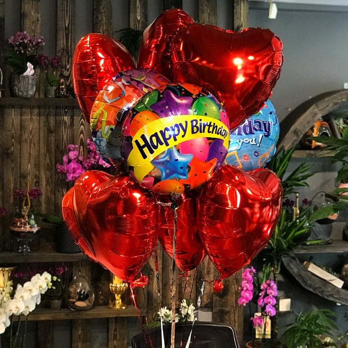 Bir Demet Uçan Balon