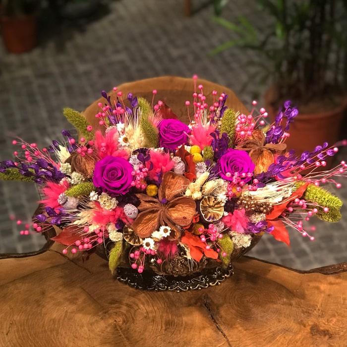 Yarpuz Çiçek Kuru Tasarým