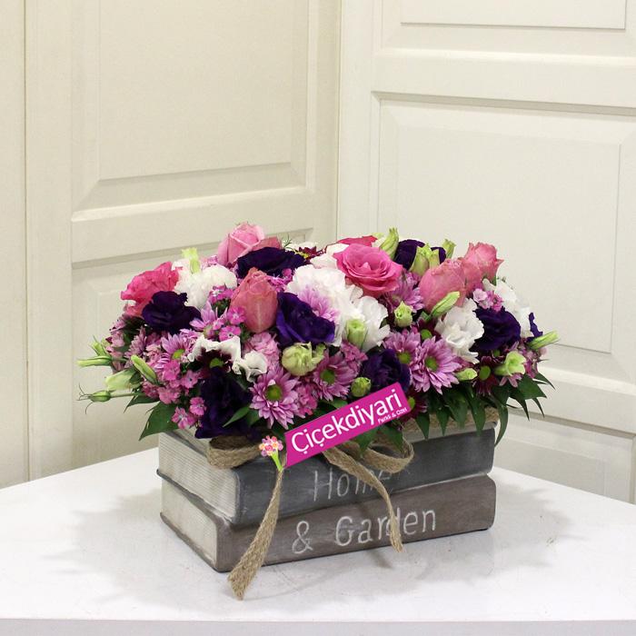 Kitapta Kır çiçekleri