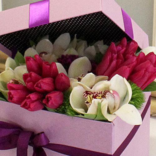 Mor Laleler ve Orkideler