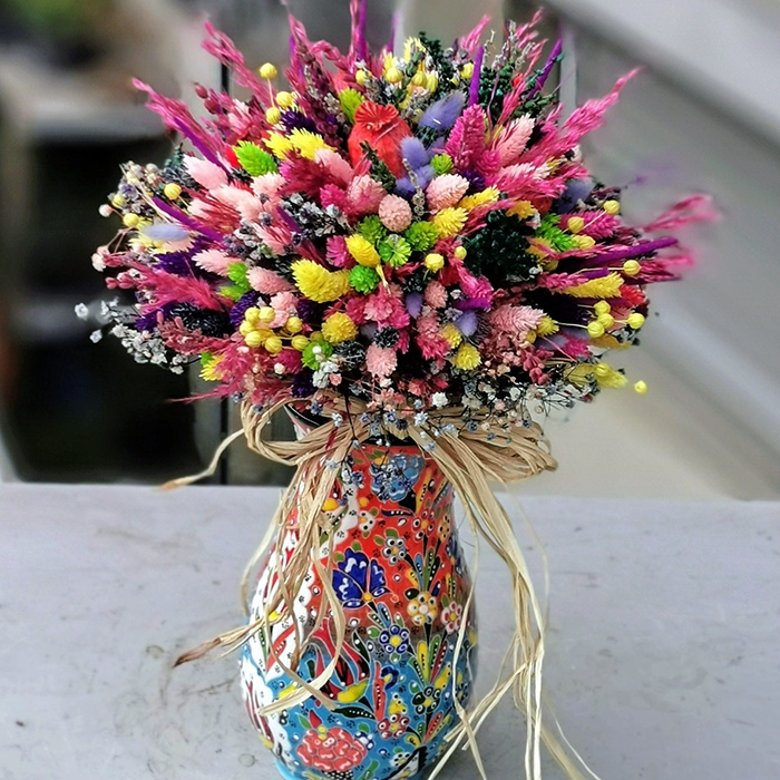 Minai Serisi Kuru Çiçek
