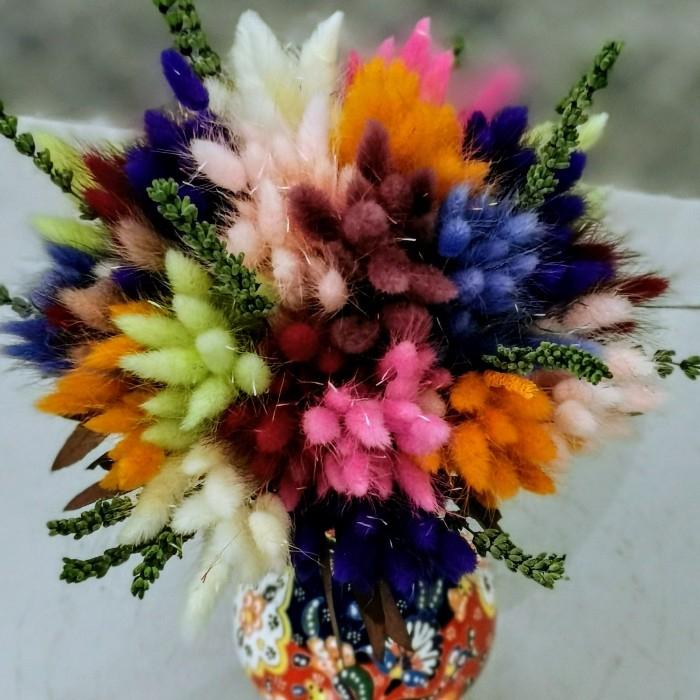 Minai Serisi Lagurus Kuru Çiçek