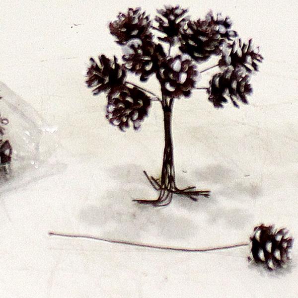 Minyatür Çam Kozalak