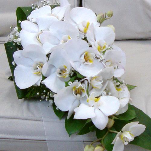 Dökümlü Orkide Buketi