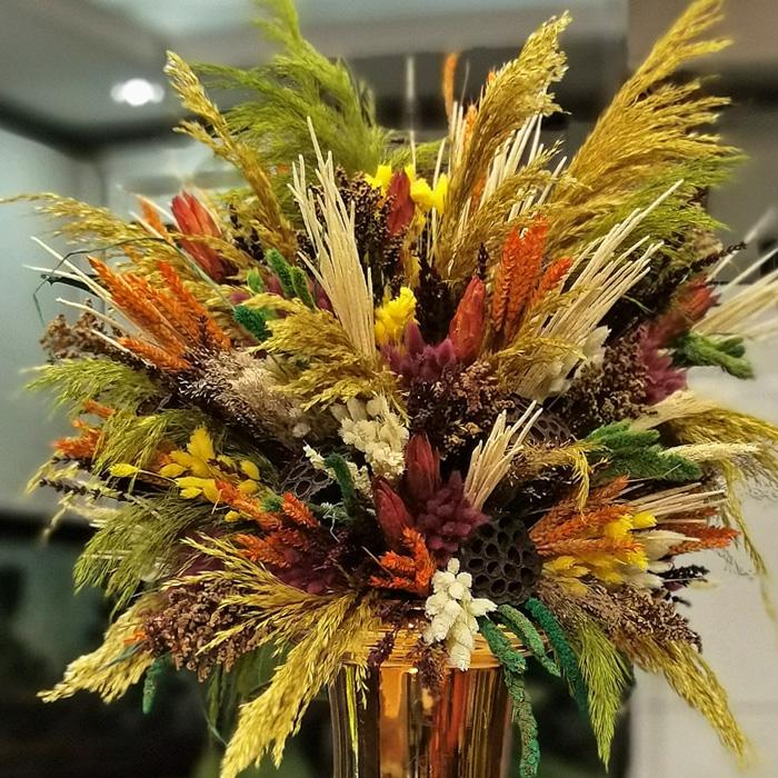 Pampas Kuru Çiçek