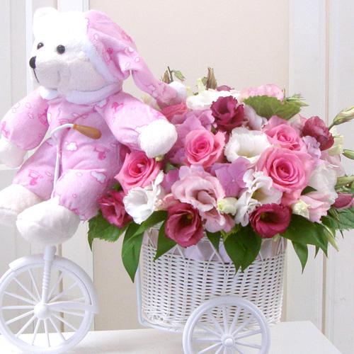 Bebiþe Çiçekler Getirdim
