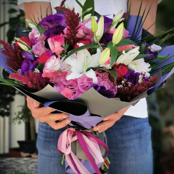 Söz-Ýsteme Çiçek Buketi