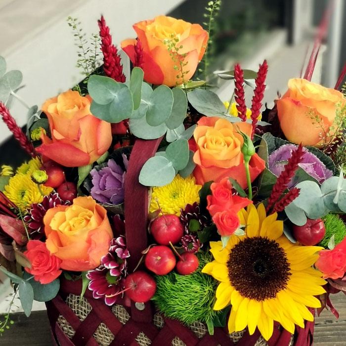 Günebakan - Çiçek Sepeti
