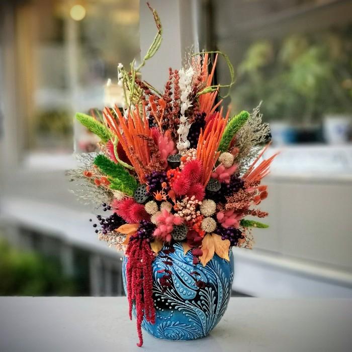 Minai Serisi Hazan Kuru Çiçek