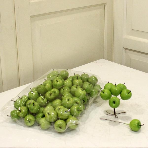 Dekoratif Yeşil Elma