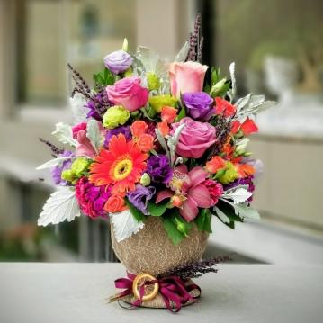Bomonti çiçek