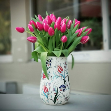 Minai Serisi - Pembe laleler