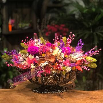 Yarpuz Kuru Çiçek Tasarým
