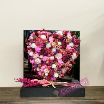 Kalbimin Aynasý Kuru Çiçek
